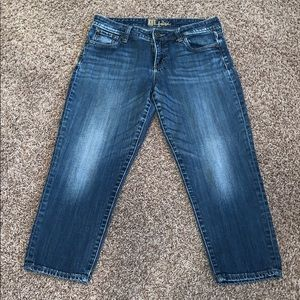 Kut cropped jeans
